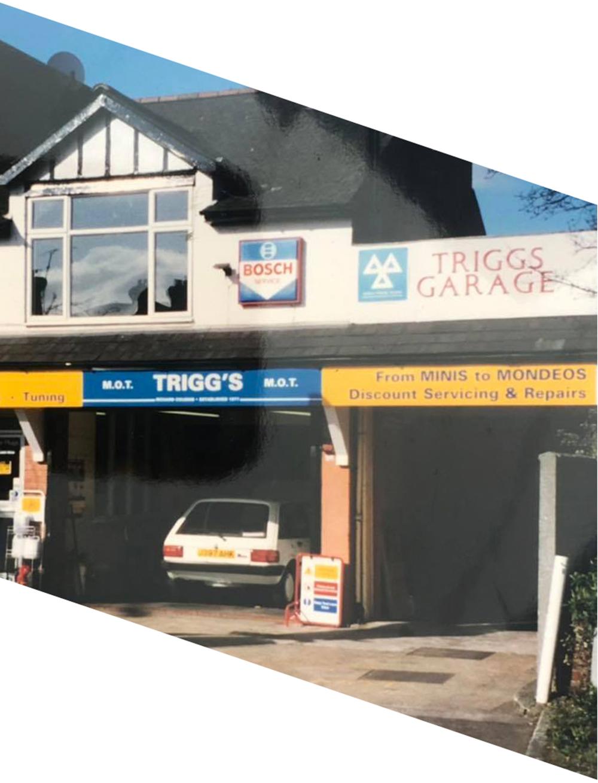 triggs garage history